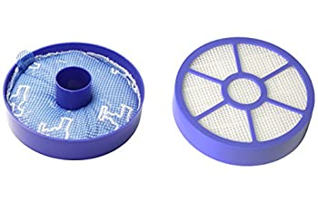 LTWHOME Replacement Pre and Post Motor Filter Fit for Dyson DC33 Animal DC33 All Floor Vacuum Cleaners Compare to Filter Part # 919563-02,921616-01 Pack of 1 Set