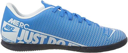 Nike Unisex-Kinder Vapor 13 Club IC Fußballschuhe, Mehrfarbig (Blue Hero/White/Obsidian 414), 37.5 EU