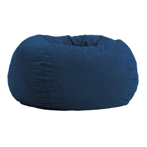 Comfort Research Classic Bean Bag in Comfort Suede, Blue Sky
