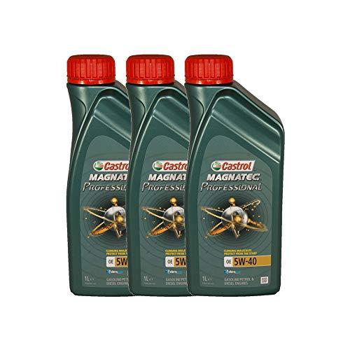 Castrol Magnatec Professional OE 5W40 - Olio per Auto, Lubrificante 5W-40 3 litri