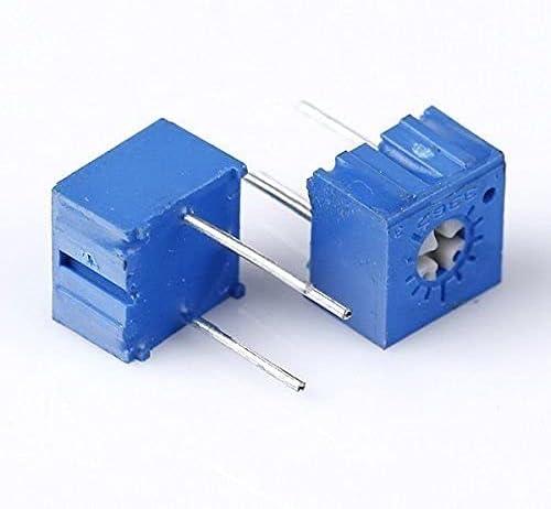 ZTSHBK 10pcs 500 ohm Arlington Mall 3362P-501 3362 P Trim Pot Sacramento Mall Potentiom Trimmer