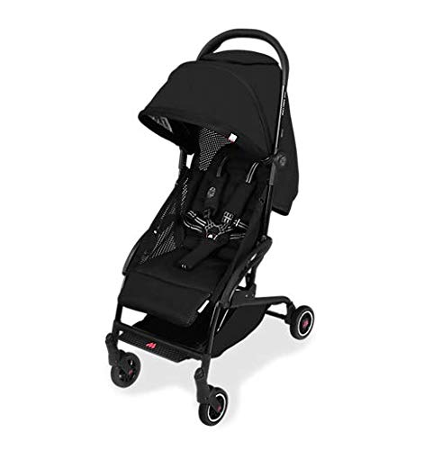 Maclaren Atom Travel System - Super Lightweight, Ultra-Compact Stroller, Fits On Airplane's Overhead Storage. Car Seat Compatible. Multi-Position Reclining Seat