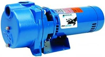 GOULDS Pumps GT15 IRRI-Gator Self-Priming Single Phase Centrifugal Pump, 1.5 hp, Blue
