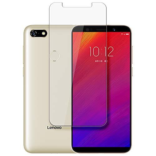 disGuard Protecteur d'écran [Crystal-Clear] Compatible avec Lenovo A5 [2 Pièces] Limpide, Transparent, Invisible, Extrêmement résistant, Anti-Empreinte Digitale - Film Protecteur