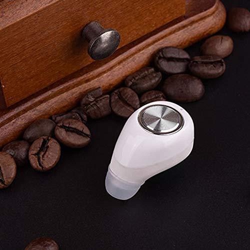 Yao Mini11 Ultra pequeño para Dos Auriculares Bluetooth universales 4.1 inalámbrico Blanco