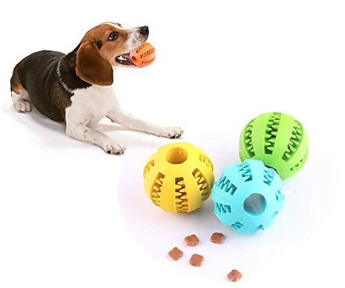 dingdang huisdier molar speelgoed behandelen bal rubber hond molar speelgoed bal molar bal bijten schone tanden lekken voedsel hond molar kauwen bal, ORANJE