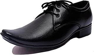 DECENT Men's Black Synthetic Formal Shoe