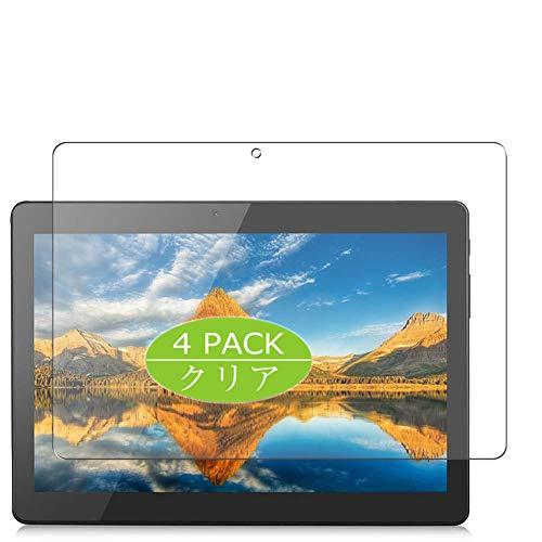 Vaxson - Protector de pantalla compatible con Excelvan Tablet 10,1' M10K6, Ultra HD [no vidrio templado] Película protectora flexible TPU