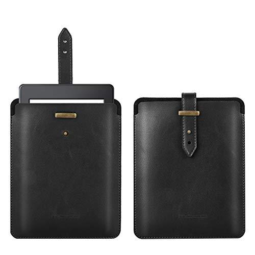 MoKo 6 Inch Tasche Kompatibel mit All-New Kindle Paperwhite 2018/Kindle 10th Generation 2019, Tragbar PU Leder Hülle Stoßfest Schutzhülle mit Druckknopf für Kindle(8th Gen)/Kindle Oasis 6