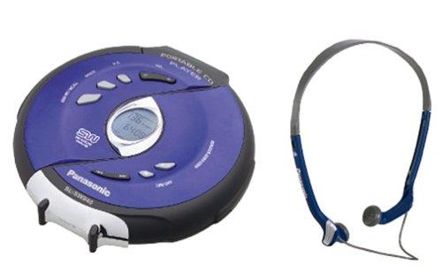 Panasonic SL-SW940 Shockwave Water Resistant Portable CD Player (Blue)