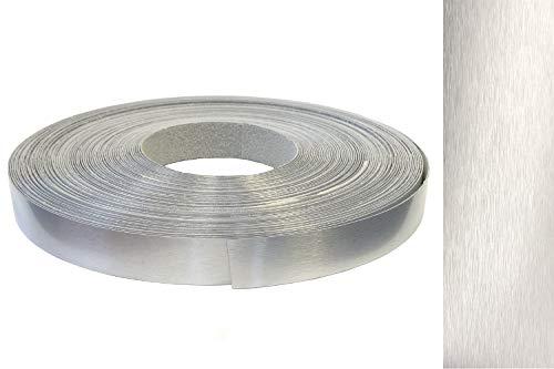 Bienes de aluminio cepillado de los muebles de borde - bordes banda de borde con adhesivo ABS de diferentes tamaños