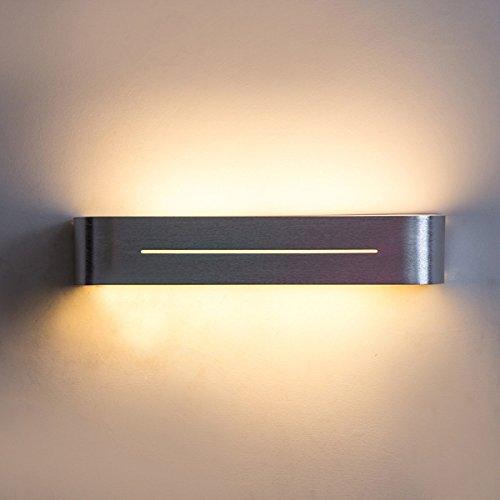 YIHANG LED-Leuchten, Schlafzimmer, Wohnzimmer, Bett Verlängert Kreativität, Bad Und WC, Spiegel Vorderen Leuchten, Treppen, Wandleuchte,WarmLight-38 * 7.4 * 7cm