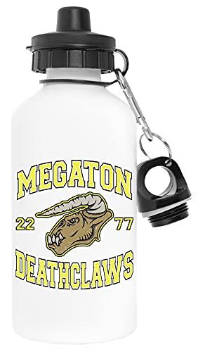 Bull Megaton Deathclaws Blanco Botella de Agua Aluminio Deportes Viaje Exterior White Water Bottle Aluminium Sports Travel Outdoor