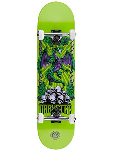 Darkstar Levitate Green - Skateboard completo, 20,3 cm