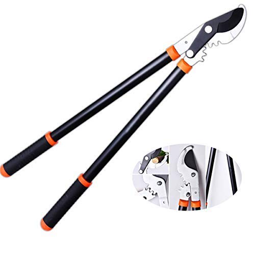 NBVCX Home Accessories Anvil Pruning Loppers approx 80 cm with Gear Drive cutting system shear
