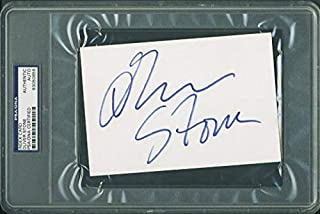 Oliver Stone Signed Autographed 3x5 Card Jsa Certified Cards & Papers Movies
