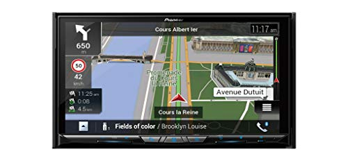 Pioneer AVIC-Z930DAB 2-DIN Mediacenter, Navigatore, Wi-Fi, Touchscreen da 7 Pollici, Collegamento a Smartphone, Bluetooth, Apple CarPlay, Android Auto, Vivavoce, 2 USB, Dab/Dab+