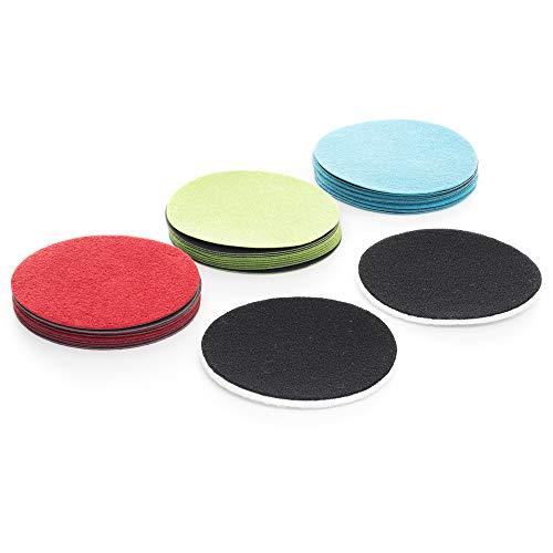 GP41011 Resupply kit for DIY GP-WIZ Glass Scratch Repair kit / 3 inch / Sanding Discs Plus polishing Pads