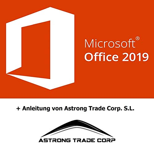 Office 2019 Professional Plus - Produktschlüssel - Deutsche Lizenz - 1 PC - Deutsch - Spacemex - Download - Produktschlüssel per Post.