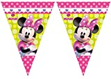 Unique Party 71266 - 2.3m Disney Minnie Mouse Bunting Flags