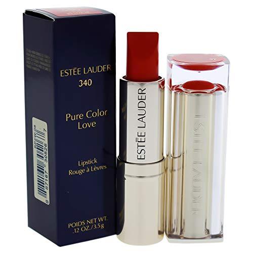Estée Lauder Pure Color Love Creme Lipstick, 340 Hot Rumor, 3.5 g