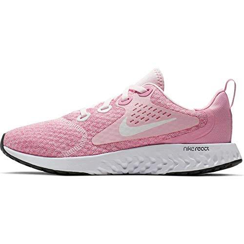 Nike Damen Legend React (gs) Leichtathletikschuhe, Mehrfarbig (Pink Foam/White/Pink Rise/Anthracite 601), 38 EU