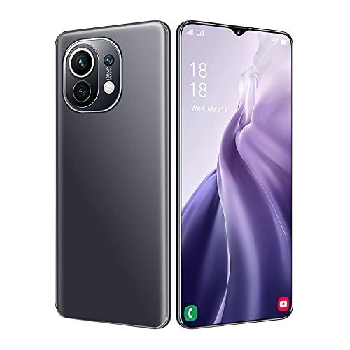 Porcyco Para M11 teléfono, para M11+Ultra 6.3 pulgadas 3G red doble tarjeta de espera doble teléfono inteligente 4+64G pantalla grande teléfono móvil con gota de agua mate contraportada