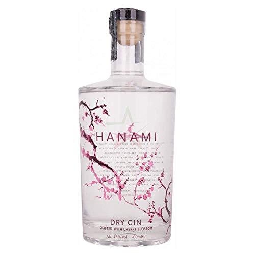 Hanami Dry Gin 43,00% 0,70 Liter