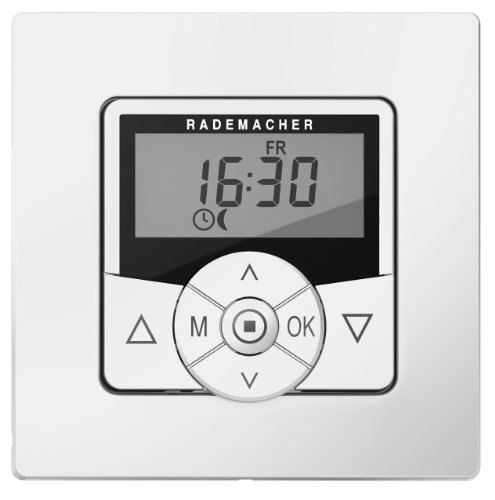 Rademacher 36500312 Troll Standard(Ultraweiß) inkl. Rahmen