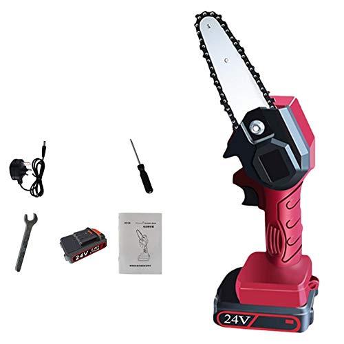 Sierra de poda eléctrica Handheld sin cuerda eléctrico recargable sierra de la...