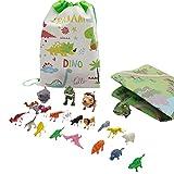 Freshwater Juego de calendario de Adviento 2021, 23 piezas de animales, figura de animales, figuras de dinosaurio, juego de animales cognitivos, juguetes de enseñanza para niños