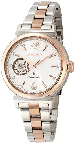 [セイコーウォッチ] 腕時計 ルキア メカニカル SSVM010 レディース マルチカラー(シルバー+ピンクゴールド)