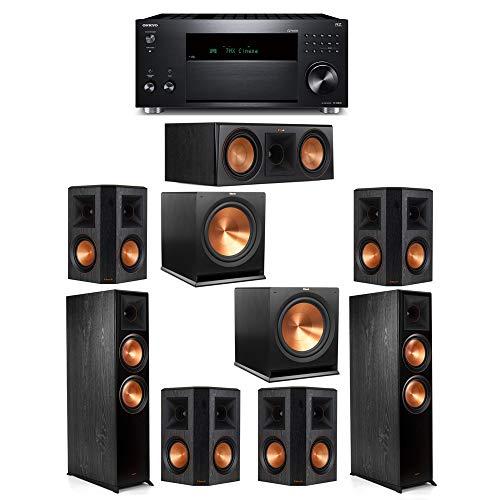 Sale!! Klipsch 7.2 System with 2 RP-8000F, 1 Klipsch RP-600C, 4 Klipsch RP-502S, 2 Klipsch R-115SW S...