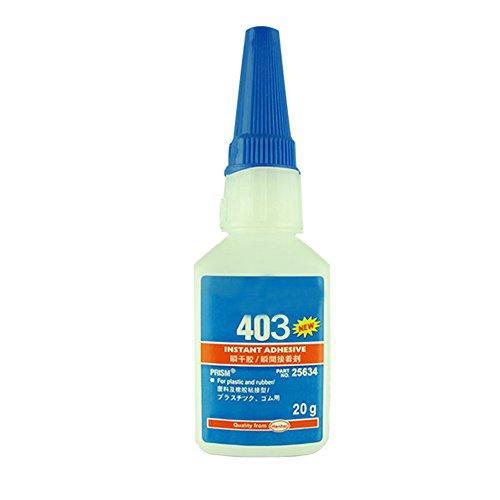 Wavel 20g School Liquid Universal Instant Glue, Kids Toy Long Lasting Glue, Quick Drying Super Glue Gel