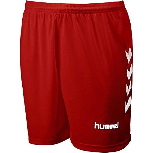 Hummel - Short CHEVRON Rouge / Blanc Taille - XXS