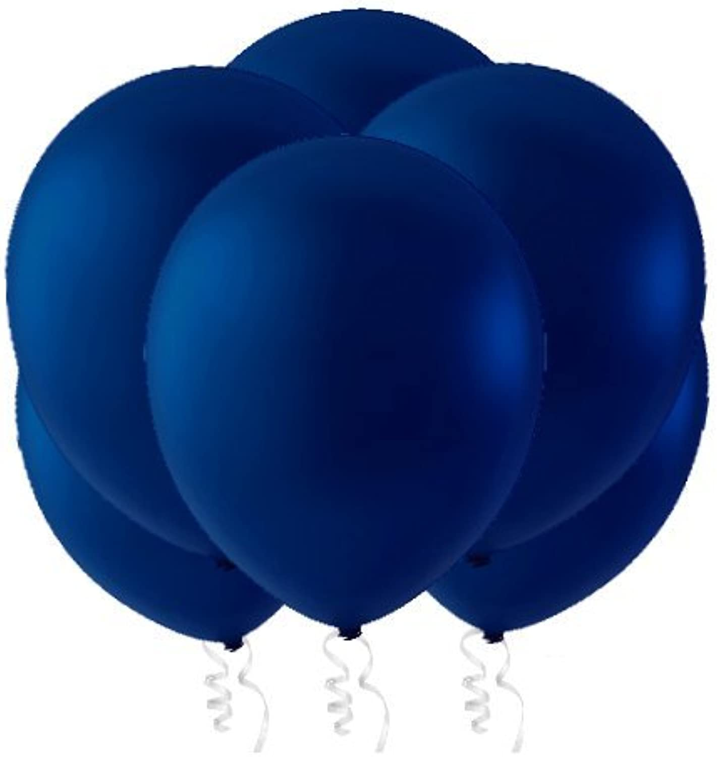 Creative Balloons 16  Latex Balloons  Pack of 144 Piece  Decorator Navy bluee