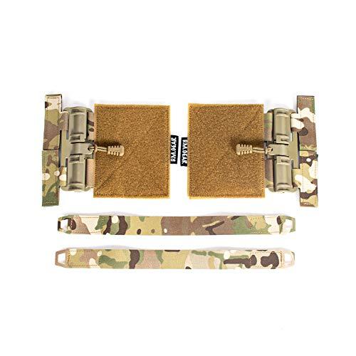 SINAIRSOFT Tactical Single Point Quick Release Assembly Kit for JPC CPC NCP Vest Buckle Set Multicamo