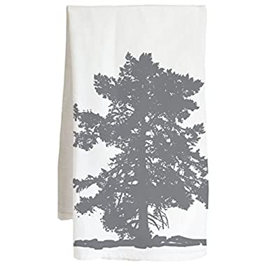 Live Nice TREES 3 - Farm Flour Sack Kitchen Tea Towel