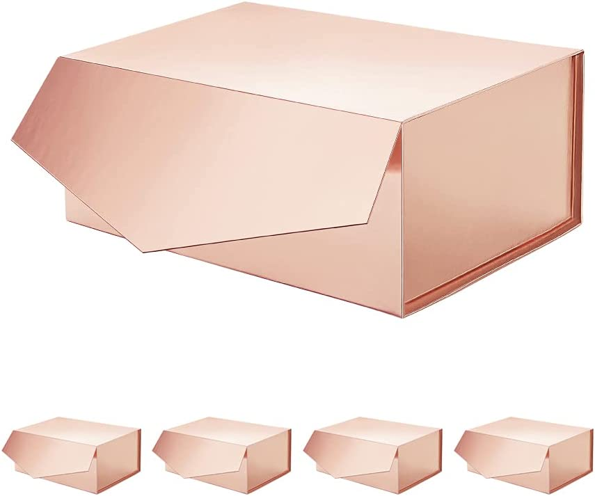 ROSEGLD 5 Gift Long-awaited Boxes Attention brand Inches 9.5x7x4 Bridesmaid