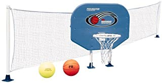 Poolmaster Swimming Pool Basketball and Volleyball Game Combo, Above-Ground Pool (Renewed)