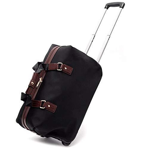 XWX Bolsa De Negocios De Gran Capacidad del Recorrido del Bolso del Equipaje del Bolso De Viaje Aptitud De Los Hombres De Tendencia De La Moda Plegable Portátil Bolsa De Viaje (Size : L)
