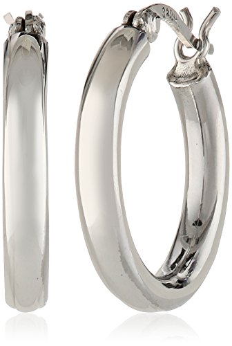 Sterling Silver 3mm Hoop Earrings (0.7