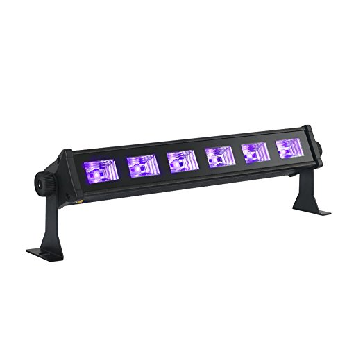 OPPSK Black Lights with 3W x 6 LEDs UV Bar