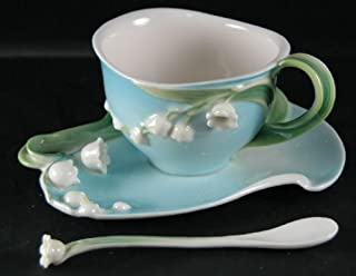Two's Company - Garden Tea Party Set - Lily of the Valley