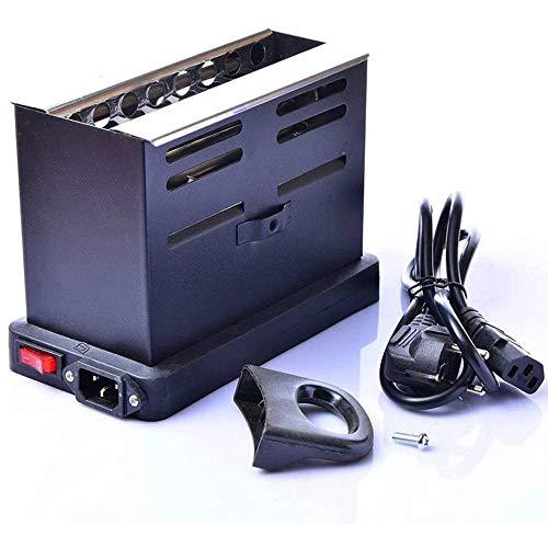 Angelay-Tian Quemador de carbón Multiusos - Arrancador para la cachimba, Shisha, BBQ Fire Hookah Accessories Burner de carbón, Hookah Electric Coals Burner, Portable