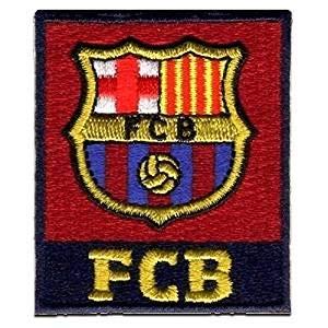Barça Parche Fútbol Club Barcelona Decorativo Termoadhesivo 5 x 6 cm