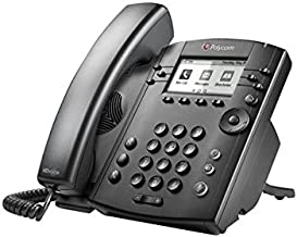 Polycom VVX 301 Corded Business Media Phone System - 6 Line PoE - 2200-48300-025 - AC Adapter (Not Included) photo