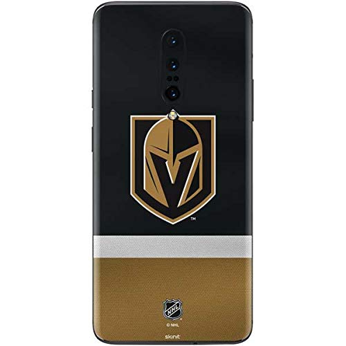 Skinit Decal Phone Skin for OnePlus 7 Pro - Officially Licensed NHL Vegas Golden Knights Jersey Design