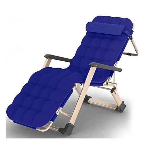 Lehnstuhl Klappbett als Außen Beach Lounge Chair mit Einzelbett Siesta Chair Büro Siesta Chair ZHNGHENG