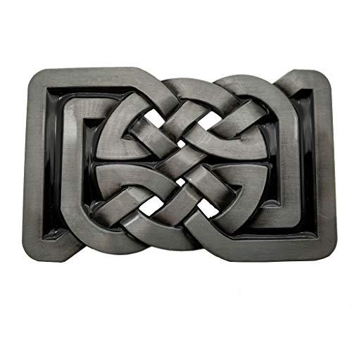 YONE Rectange Celtic Knot Belt Buckle Gürtelschnallen